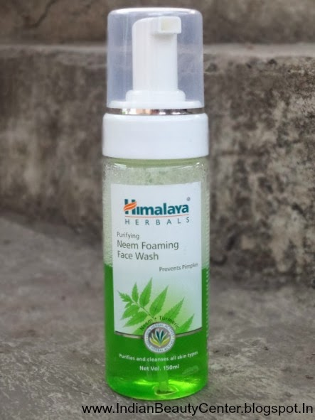 Himalaya Herbals Purifying Neem Foaming Face Wash Review India