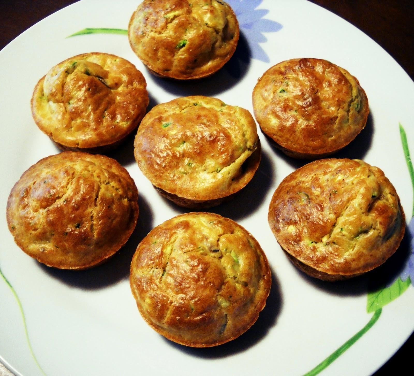 muffin mini di zucchine
