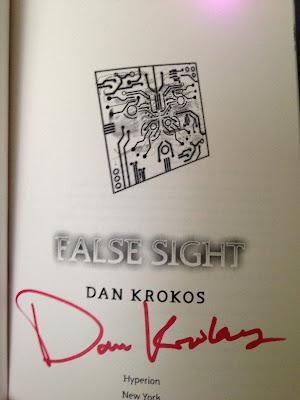 Win a signed ARC of False Sight by Dan Krokos