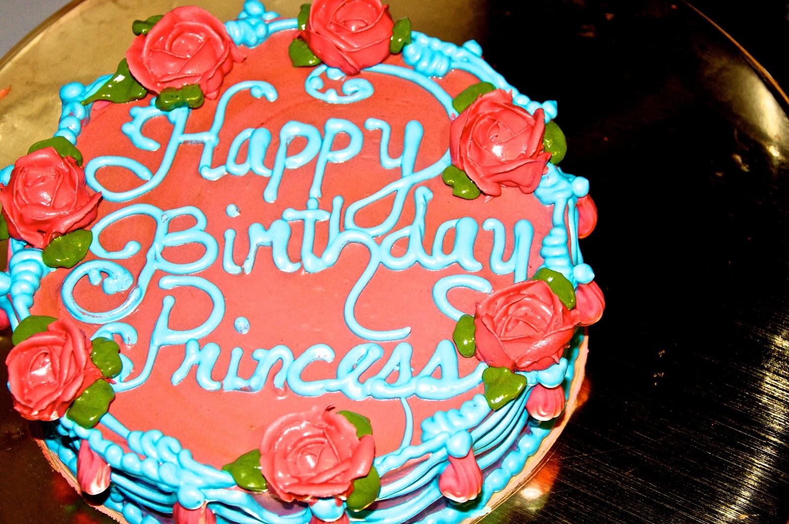 I Cakehouse Happy Birthday Princess