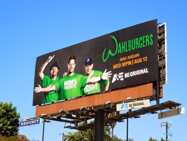 Wahlburgers series 2 billboard