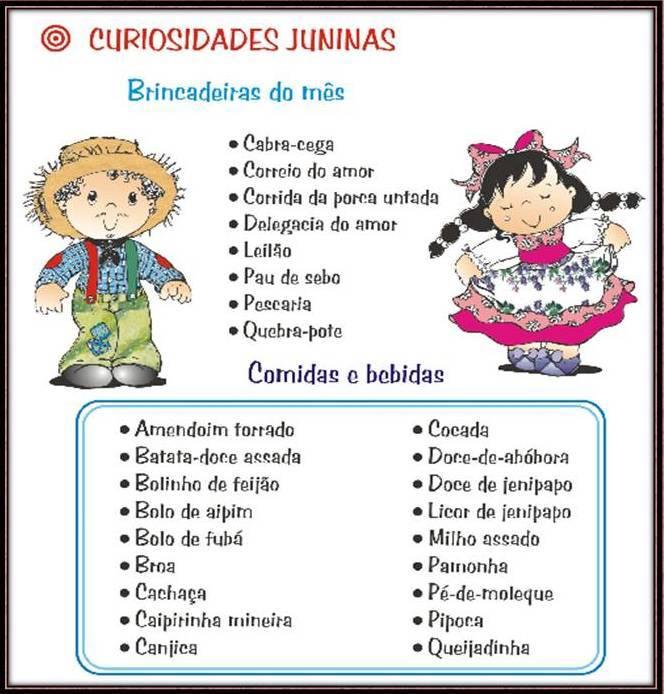 Armario Definicion Arquitectura ~ Pedagogia e Artesanato em Aç u00e3o ATIVIDADES FESTAS JUNINAS