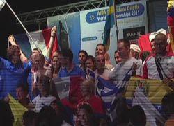 Το παγκόσμιο πρωτάθλημα ελεύθερης κατάδυσης ξεκίνησε στην Καλαμάτα