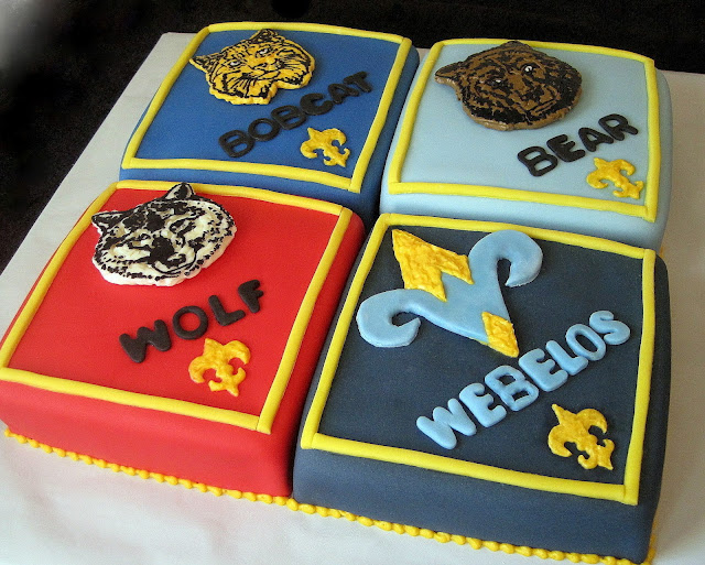 Cake Decorating For Cub Scouts : Custom Cakes By Stef: Cub Scout Cake