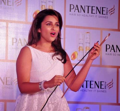 Parineeti Chopra at Pantene Proof Over Promises Campaign Photo Gallery