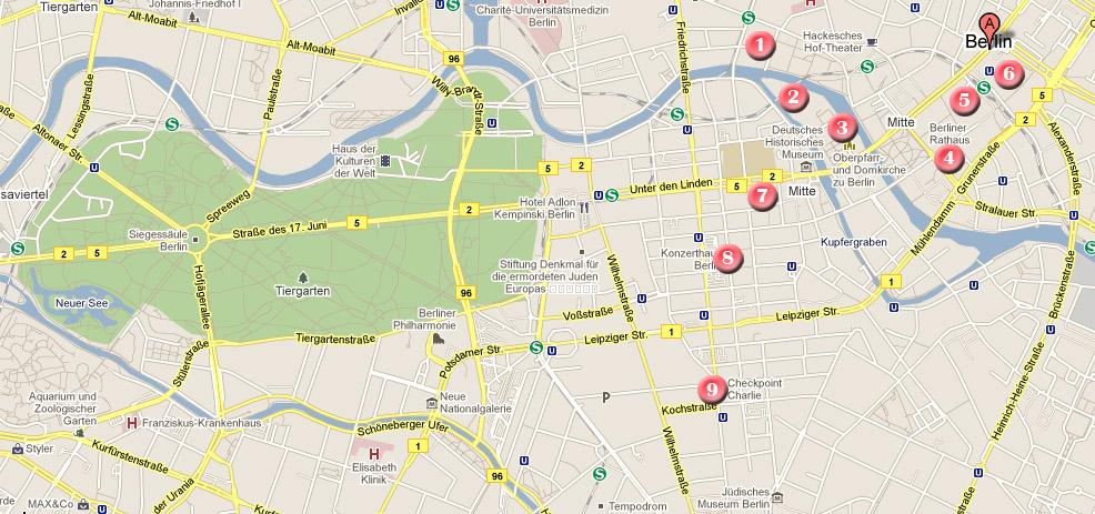 Ruta por Berln en 3 das  Que ver en  Pars Londres Nueva