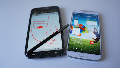 Samsung Galaxy Note 3 vs Galaxy S4