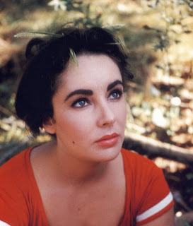 Hollywood Actress Elizabeth Taylor - In a film