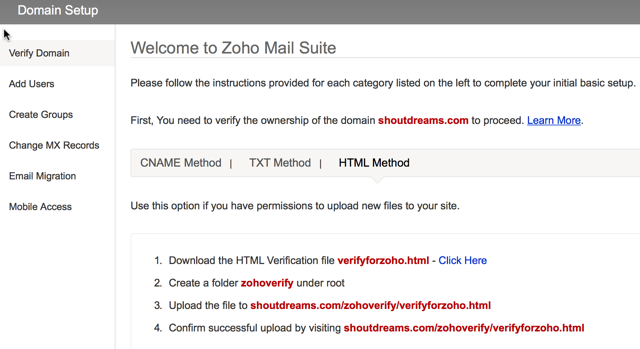 How to Create Free Business Email with ZohoMail in 5 minutes : eAskme
