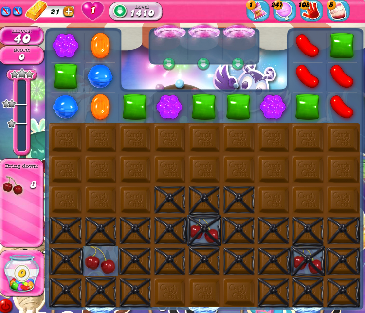 Candy Crush Saga 1410