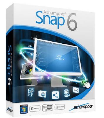 تحميل برنامج Ashampoo Snap 6 مجانا لتصوير الشاشة و عمل الشروحات