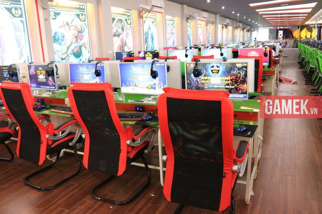 Nhiều Cyber Game tại Hàn Quốc có quy mô cả nghìn máy tính.