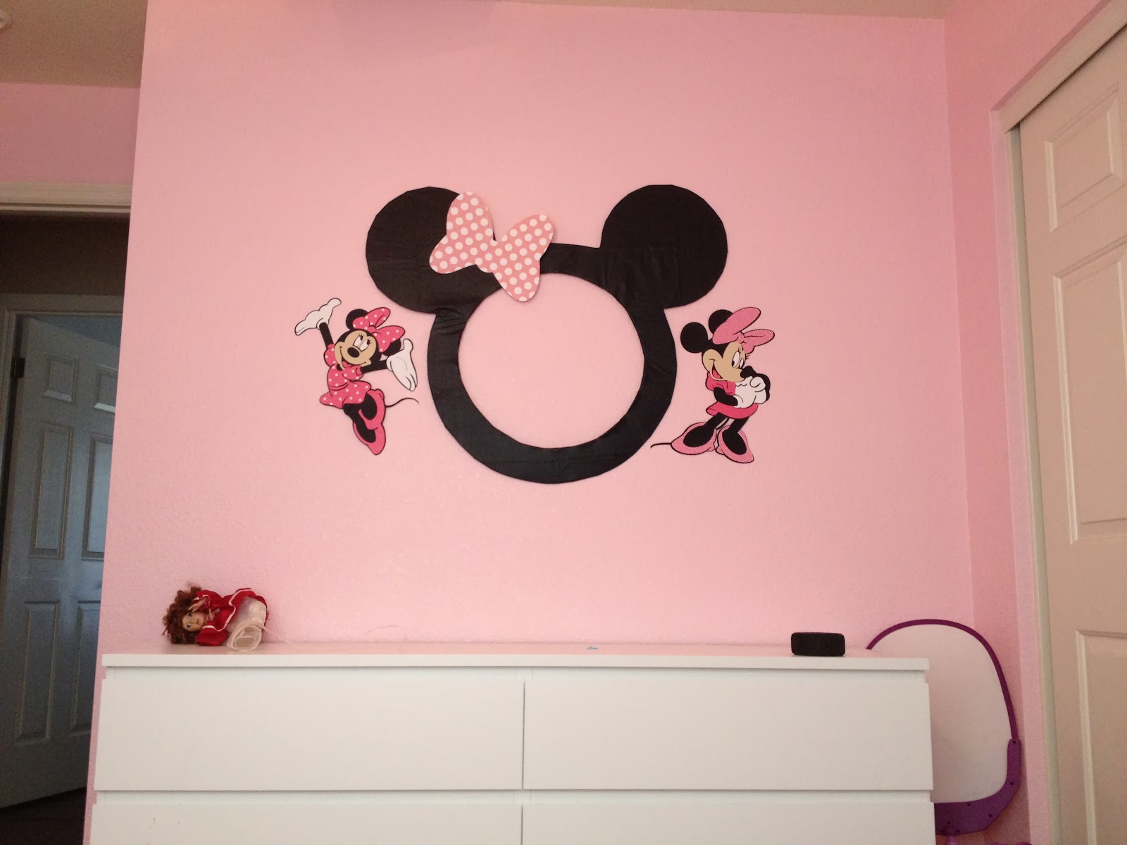 scrap obsessed minnie mouse decorations cont
