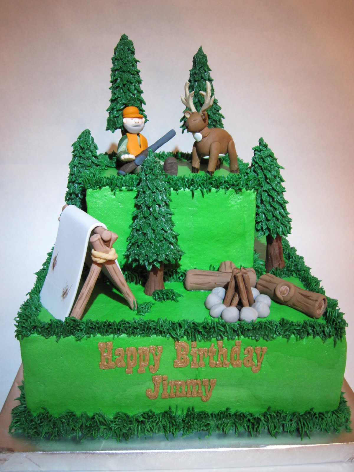 Hunting Cake Decor : Special Day Cakes: Hunting Birthday Cakes Ideas
