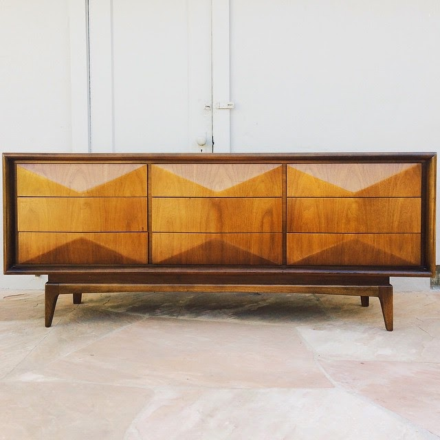 #thriftscorethursday Week 59 | Instagram user: futuristichuman shows off this Mid-Century Modern Credenza