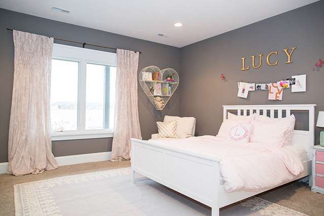 I finished up a client's big girl room a few months ago and finally am  getting around to sharing it with you. Lucy is the sweetest little girl, ...