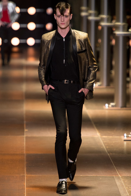 Matthew Hitt - Drowners - Saint Laurent Spring/Summer 2014 fashion show