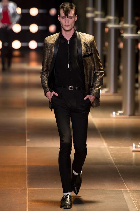 Matthew Hitt - Drowners - Saint Laurent Spring/Summer 2014 fashion show