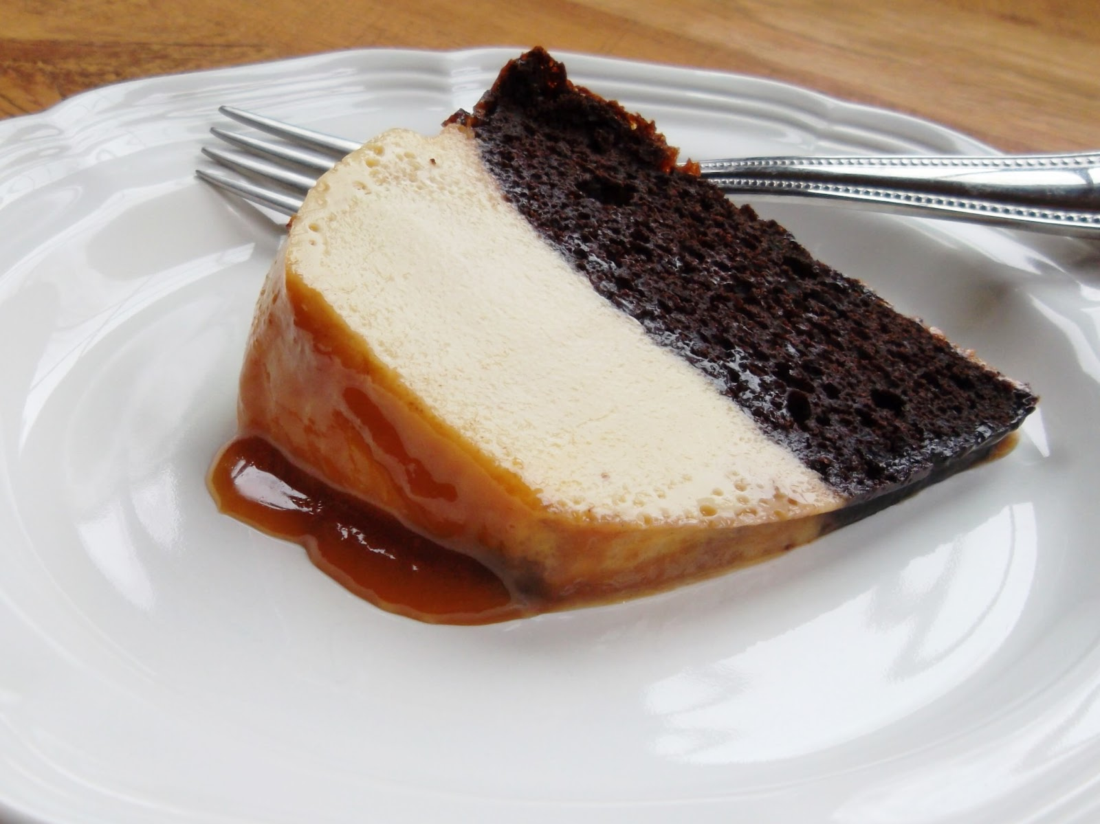 ... with mexican chocolate flan hot chocolate flan cake is chocolate
