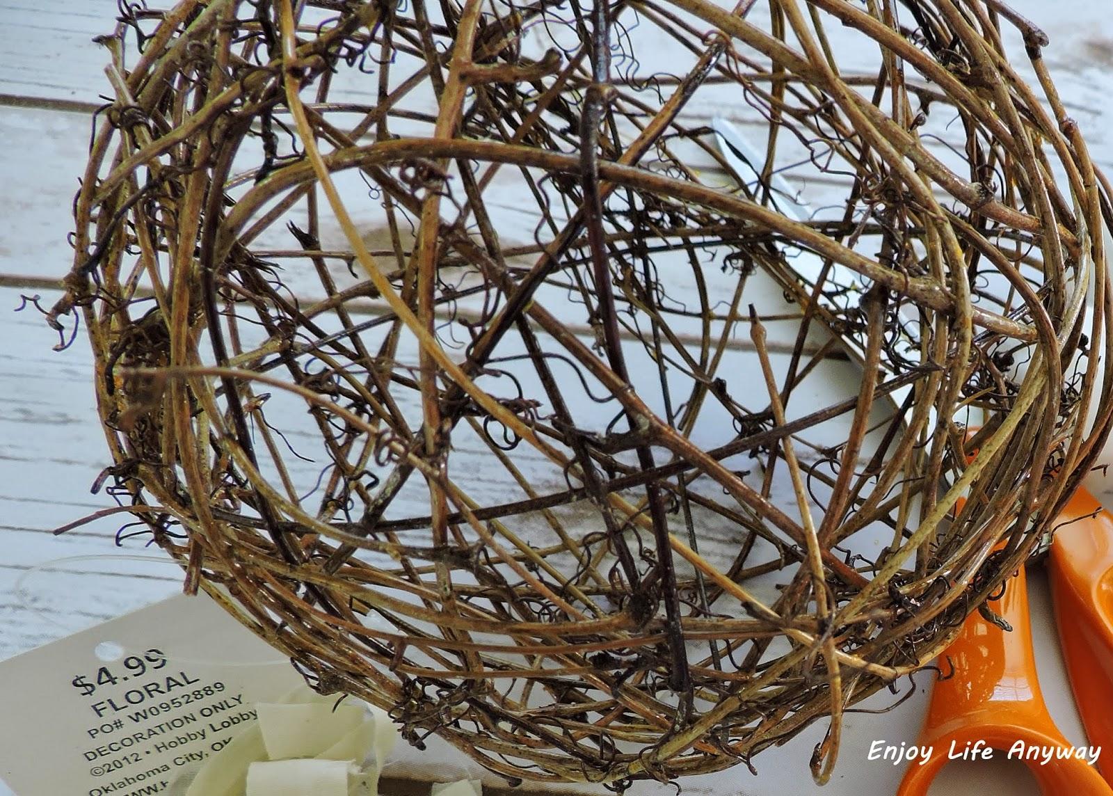 Enjoy Life Anyway: DIY Wild Bird Nesting Balls,