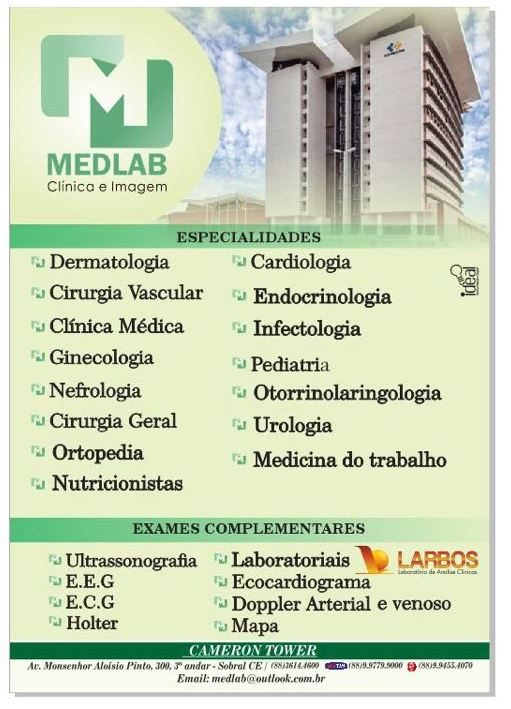 MEDLAB CENTRO INTEGRADO DE ESPECIALIDADES