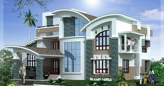 modern mix luxury home design kerala home design and floor plans