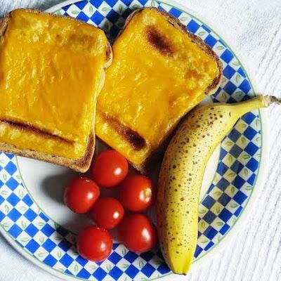 Violife original cheese on toast