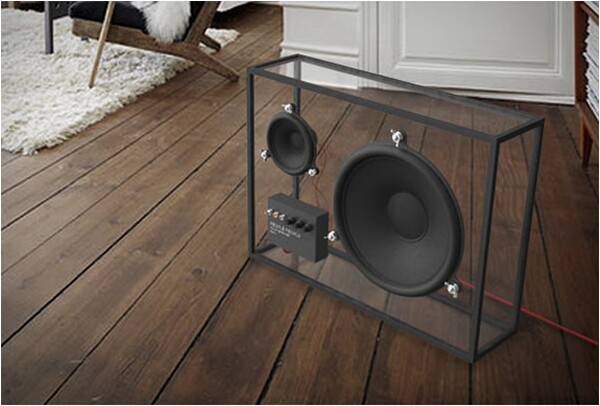 transparent speaker design