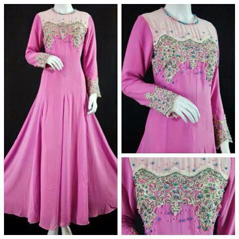 Dress Kayla Exclusive. Menawan BAk Puteri. TErdapat Dalam Pelbagai Jenis Warna