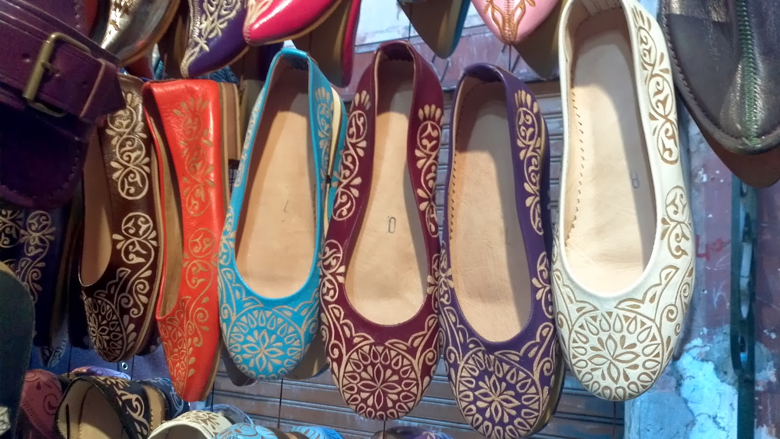 For sale: Moroccan slippers (babouches, بلغى)