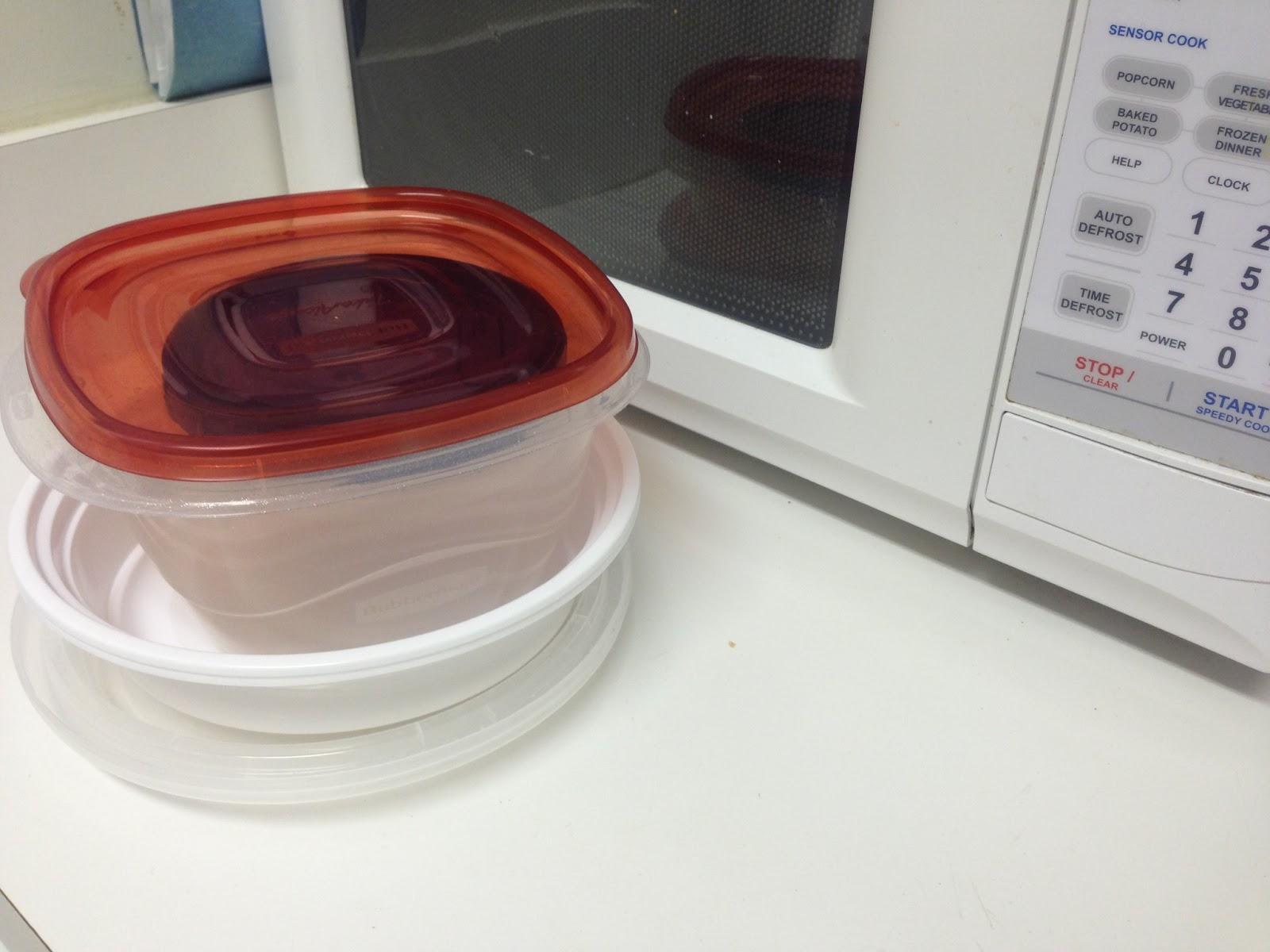 Stop Microwaving Plastic