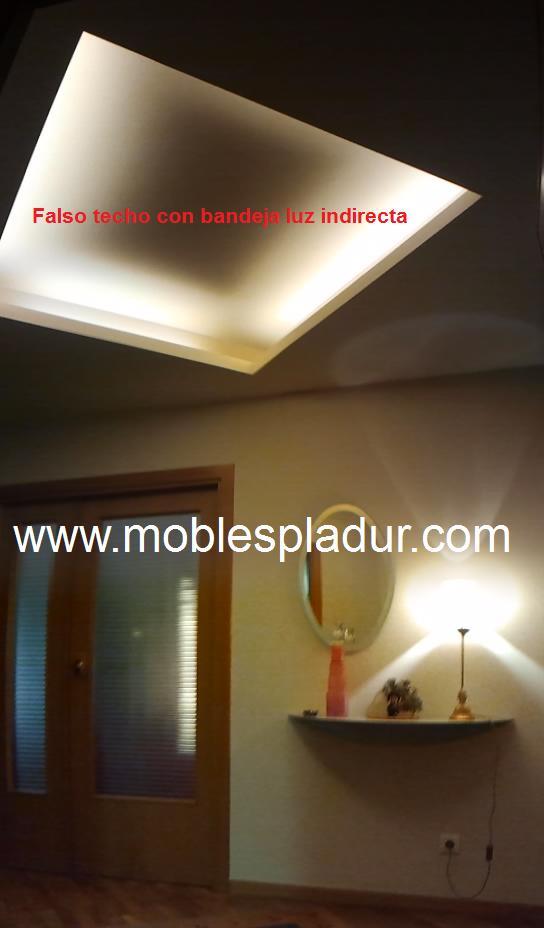 Pladur barcelona techos pladur - Luz indirecta techo ...