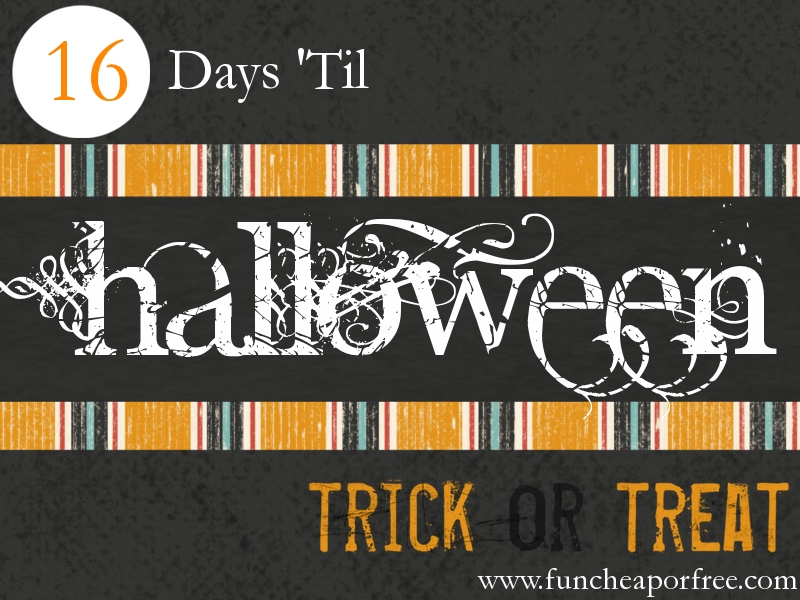 Countdown to Halloween: Exclusive FCF promo code for a FREE ...