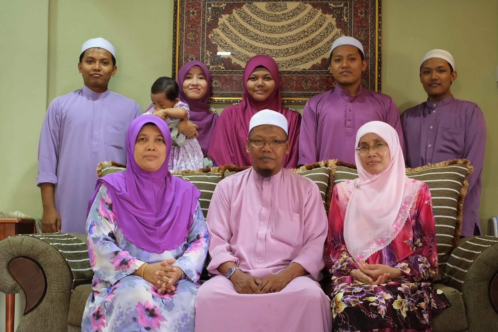 This is mine.My beloved family