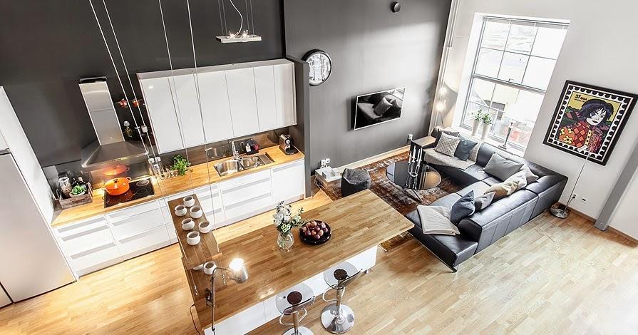 Un loft su due livelli for Idee per l aggiunta a casa su due livelli