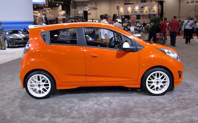 Chevrolet Spark Z-Concept - Subcompact Culture