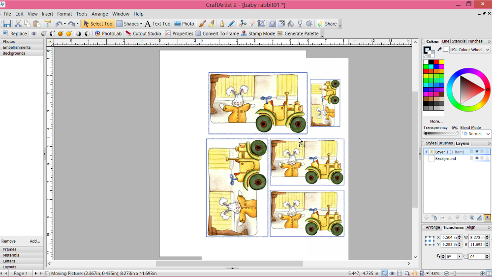 importing pdf multple pages photoshop