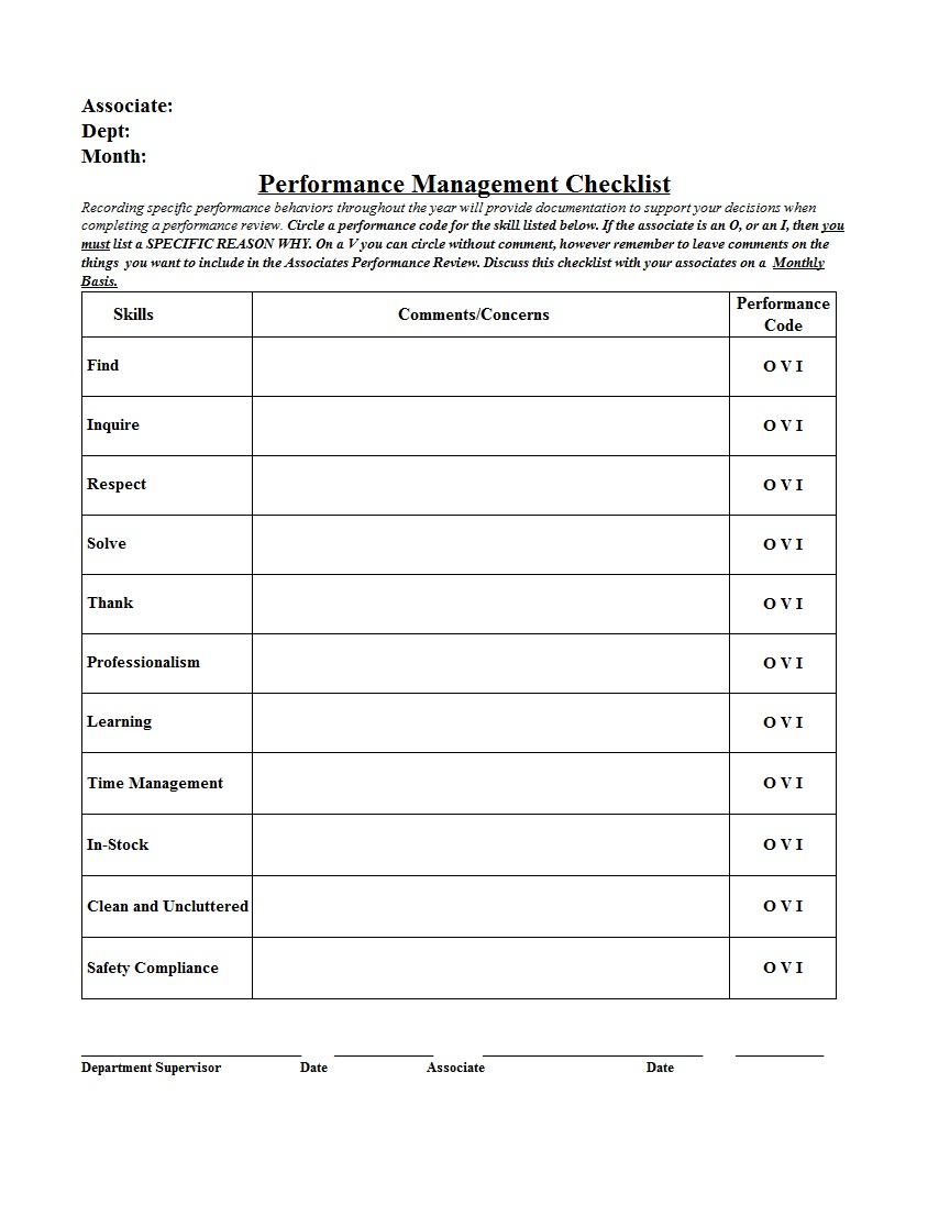 monthly performance report template sample. Black Bedroom Furniture Sets. Home Design Ideas