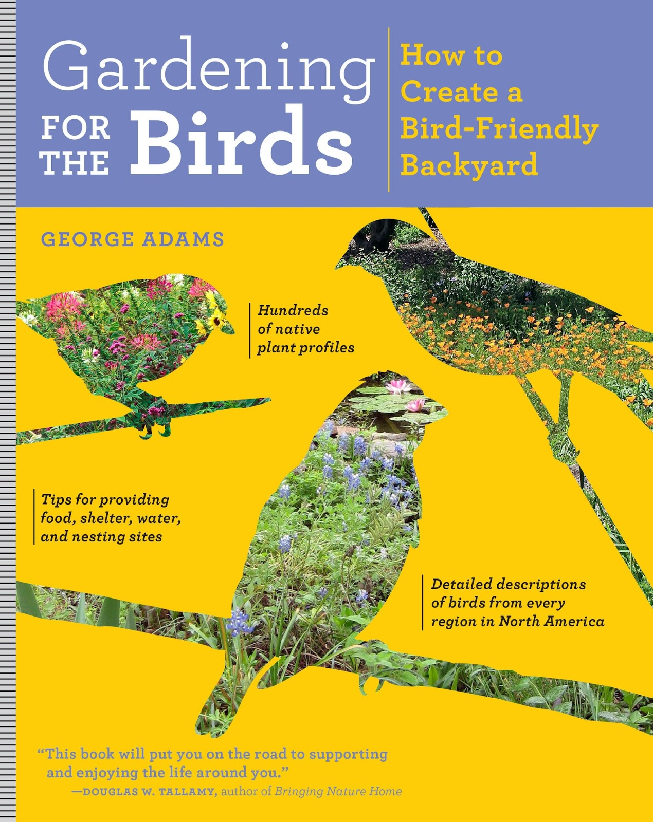book giveaway create your own bird sanctuary gardening for the