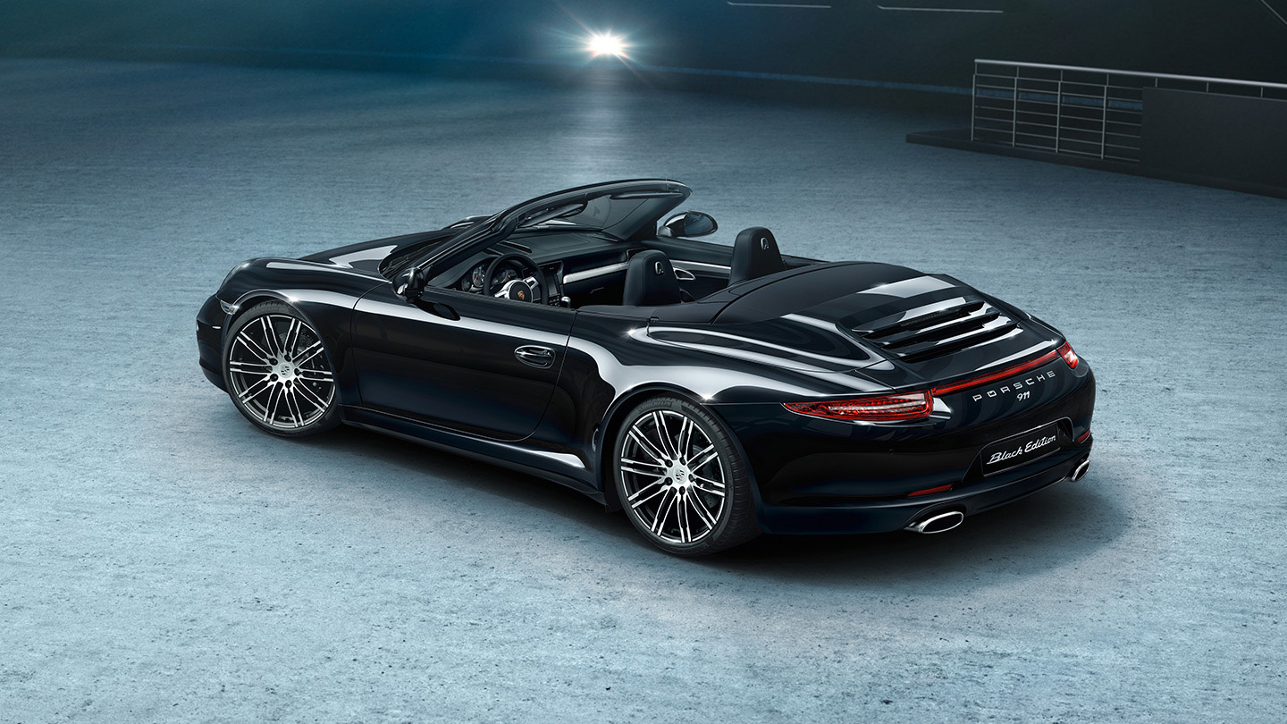 Here S Your Gallery Of Porsche S New 911 And Boxster Black