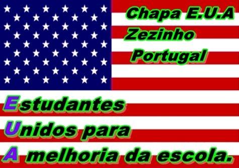Chapa E.U.A Zezinho Portugal