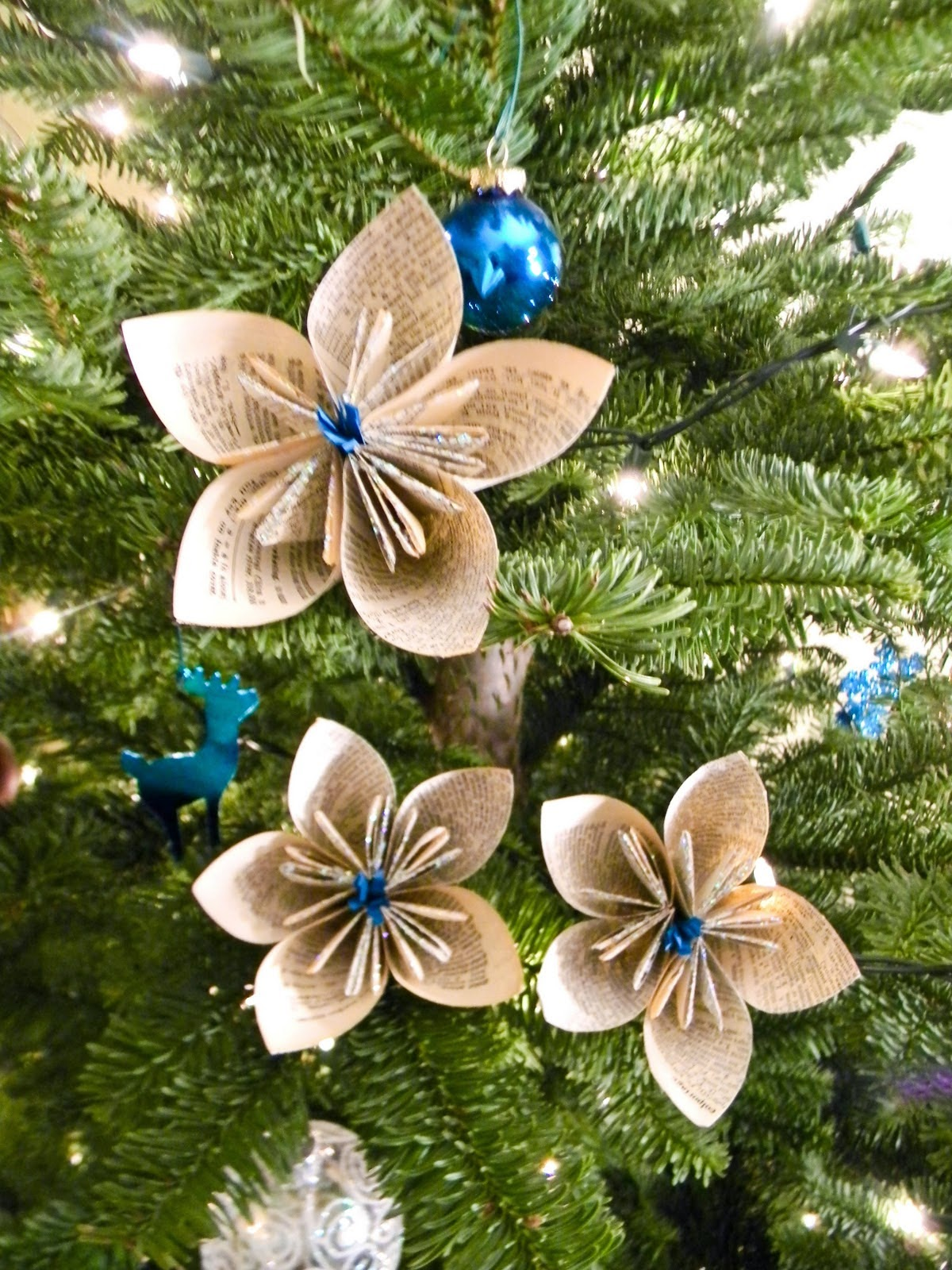 Paper craft christmas ornament ideas creative art and for Art and craft decoration