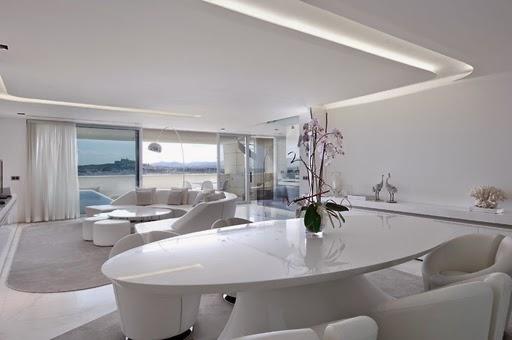 Decoração de sala moderna