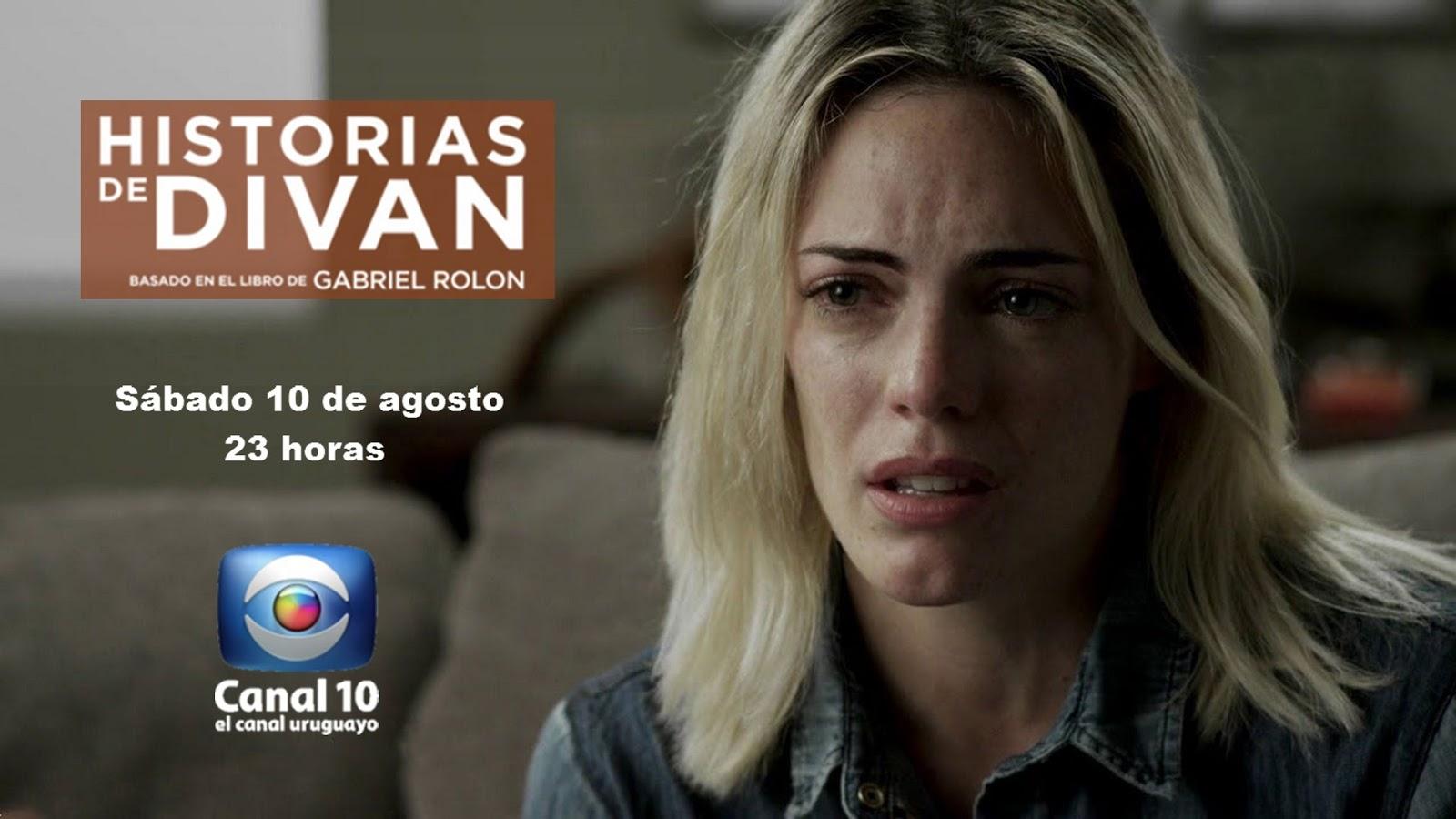 Historias de div n con emilia attias en canal 10 de uruguay for Historias de divan