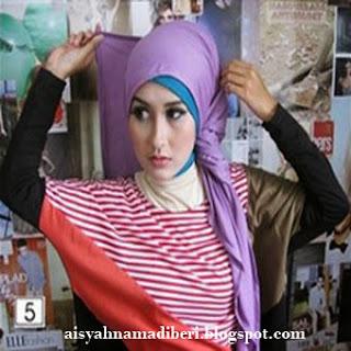 Cara Memakai Jilbab Kreasi Jilbab Pashmina Casual Dan Modis