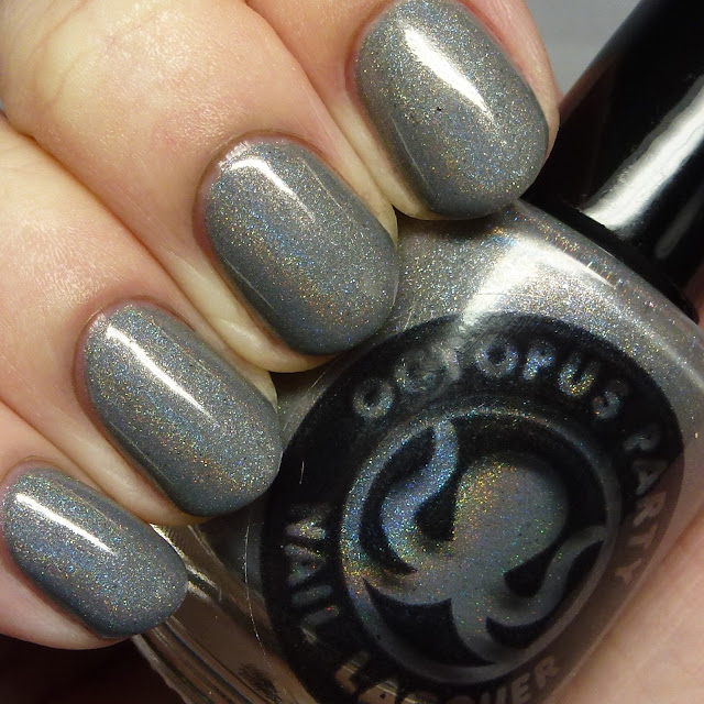 Octopus Party Nail Lacquer Steel Wolf