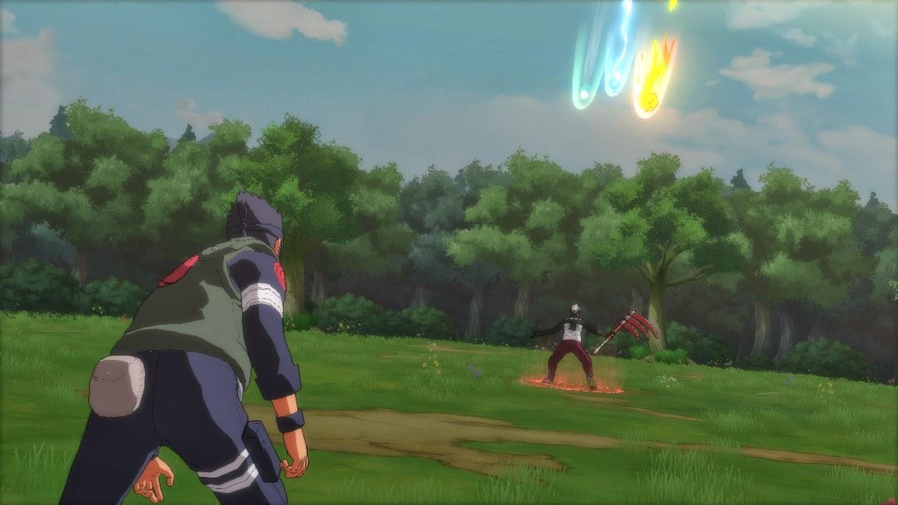 Hidan vs Asuma naruto storm revolution