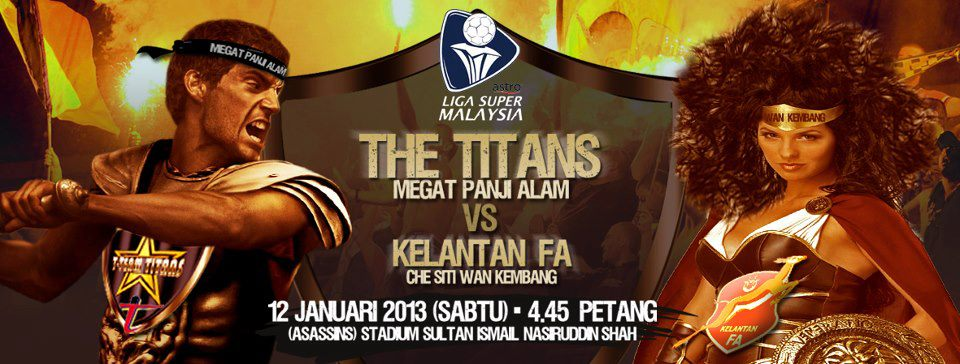 Live Streaming T-Team vs Kelantan 12 Januari 2013 - Liga Super 2013