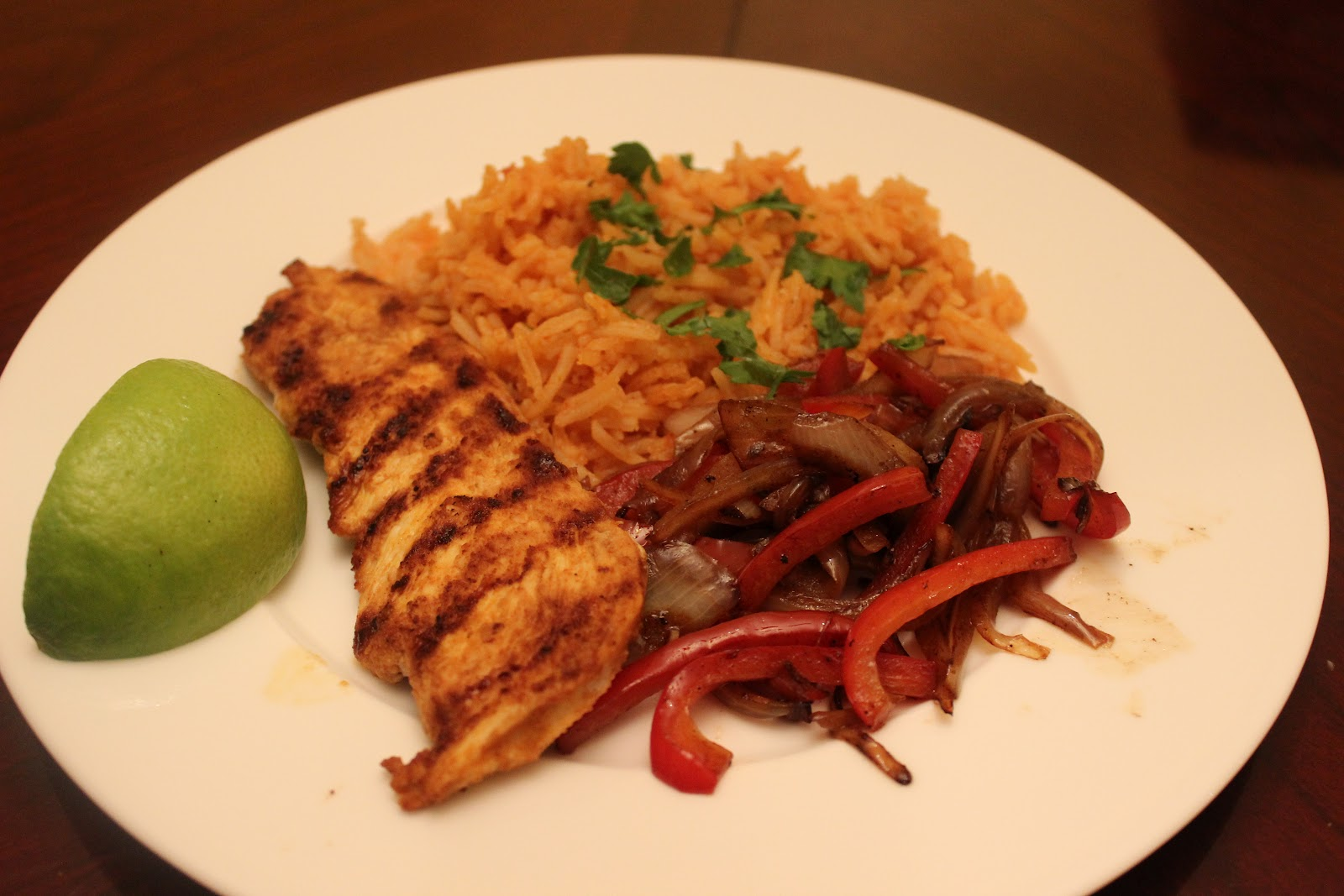 aTypical Day: Chili-Lime Chicken and Spanish Rice