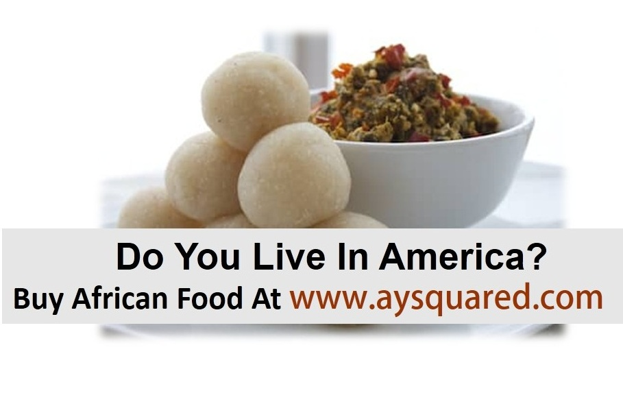 Nigeria/African Food In USA